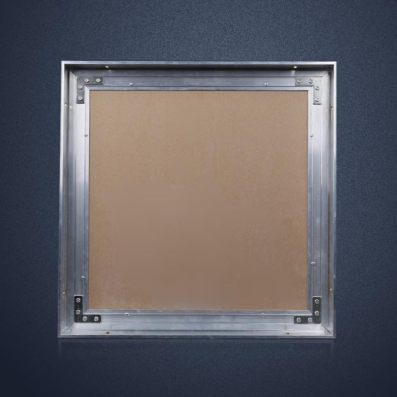400 铝合金吊顶空调维修口隐藏石膏板暗式检修口装饰通风口