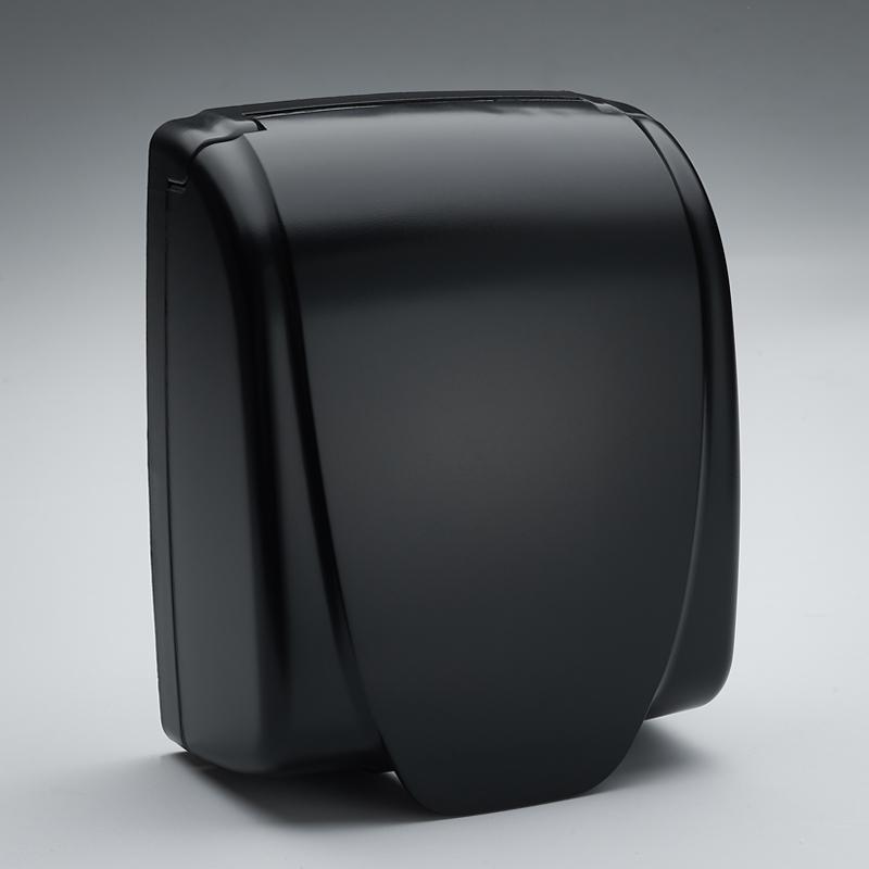 家裝開關電源插座防水盒浴室廚房黑色防水防濺盒翻蓋防水盒86型