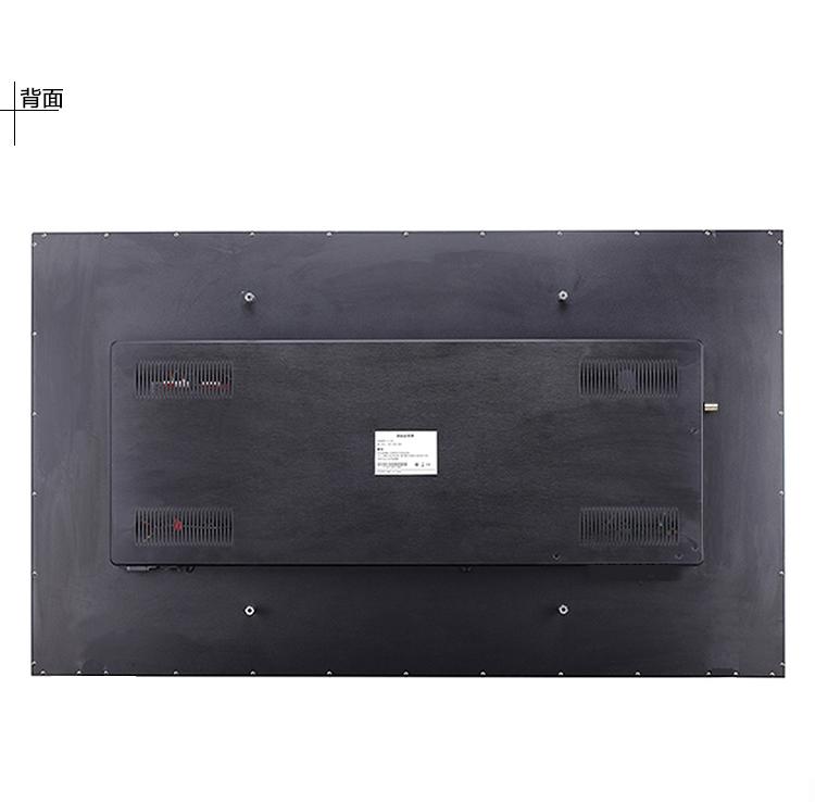 液晶监视器65寸安防监控显示器65英寸LG 4K超高清工业屏BNC金属壳
