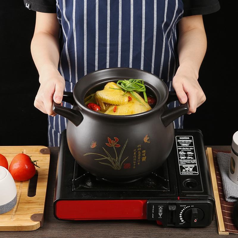 煲汤养生砂锅