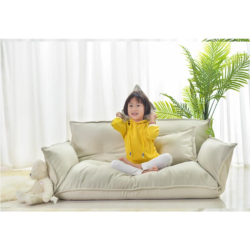 懒人榻榻米网红看书小户型双人沙发卧室阳台休闲可折叠日式沙发椅