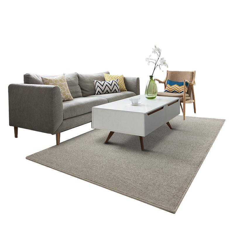 地毯卧室满铺客厅茶几垫定制床边榻榻米家用现代简约北欧纯色轻奢