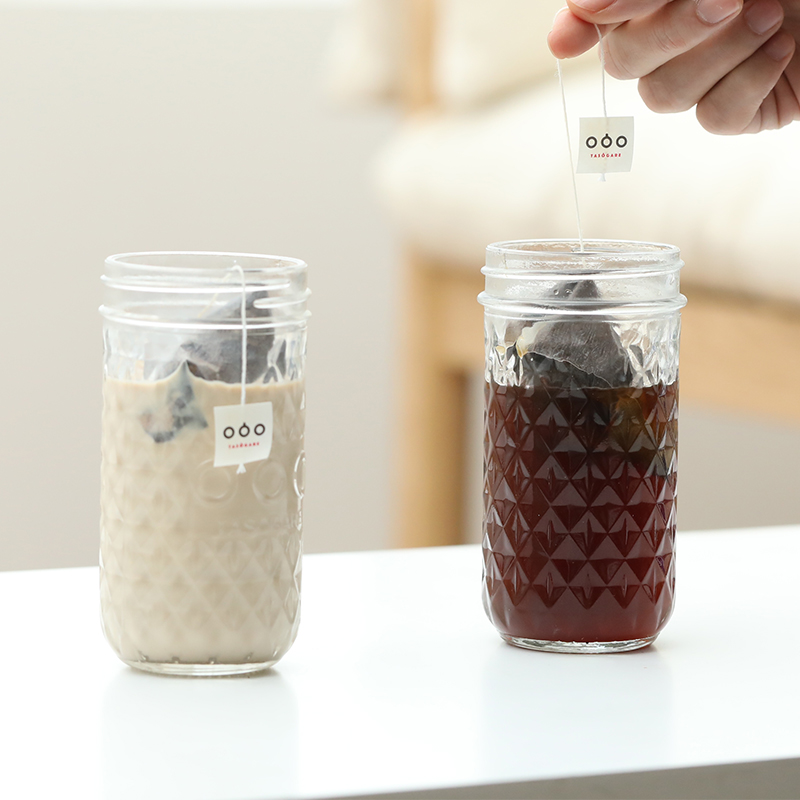 夏日新品隅田川精品冷萃咖啡袋泡黑咖啡粉奶粹热泡咖啡包送梅森杯 - 图1