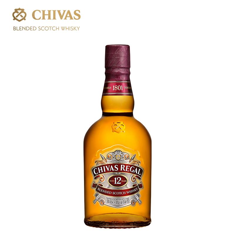鸡尾酒洋酒烈酒 英国原装进口 瓶 1 500ml 年 12 芝华士威士忌 chivas