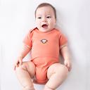 新生婴儿儿衣服夏季韩版宝宝包屁衣男纯棉连体衣女短袖婴幼儿夏装 - 1