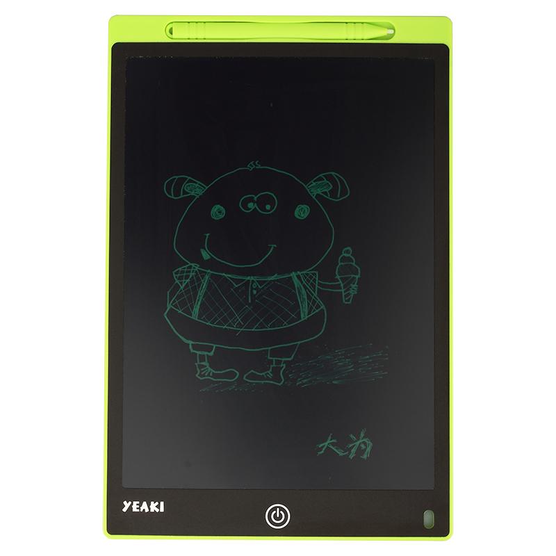 儿童12寸液晶手写板电子小黑板锁屏手绘板绘画板锁屏写字板