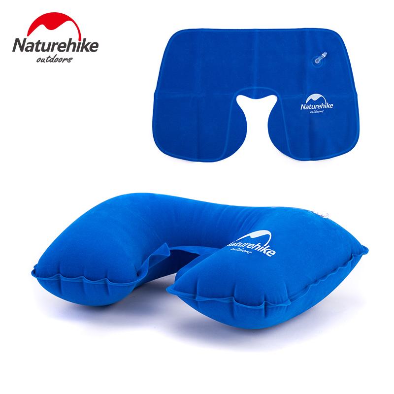 u型枕充氣枕頭飛機旅行神器三寶戶外U形吹氣枕頭頸椎護頸枕午睡枕