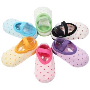 防掉宝宝地板袜防滑隔凉春秋室内婴儿学步袜秋冬加厚儿童早教袜套