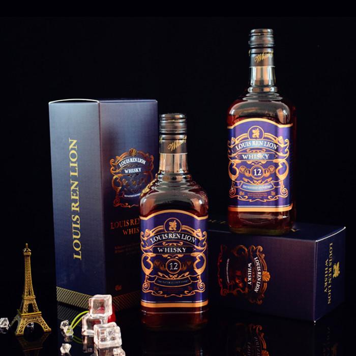 40 度礼盒装烈酒基酒洋酒买一送一 威士忌洋酒路易斯杰克 洋酒 700ml