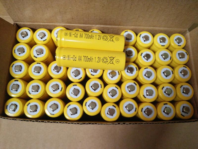 1.2v五号七号电动玩具遥控车拍拍鼓电蚊拍话筒鼠标充电电池700mah
