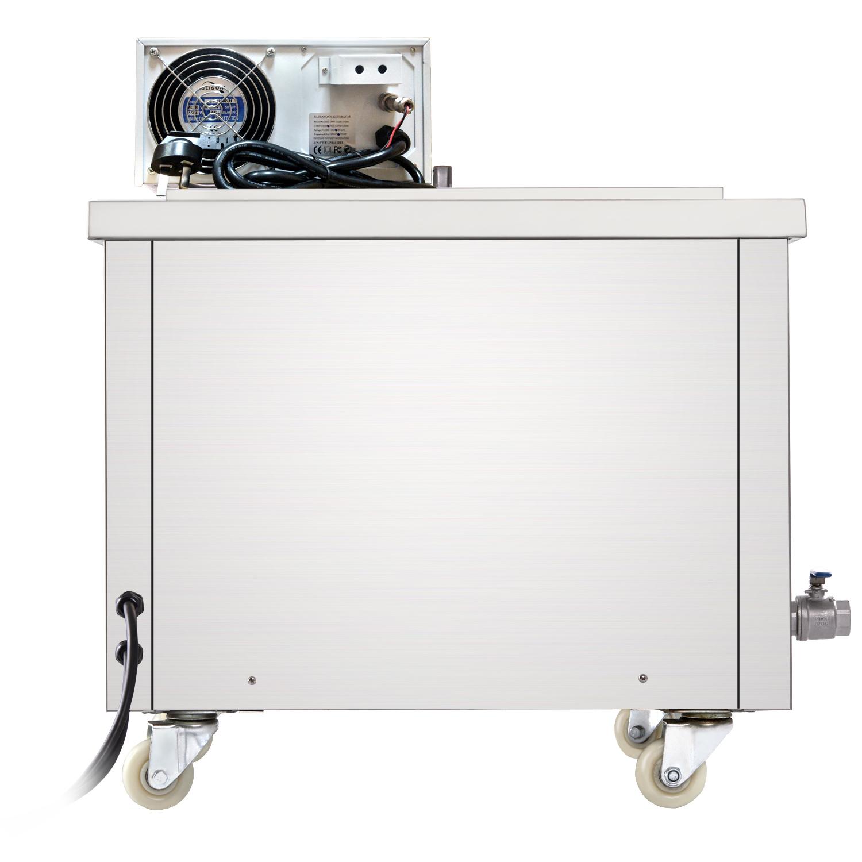 工业超声波清洗机大容量五金零件线路板实验室大功率型单槽清洗器