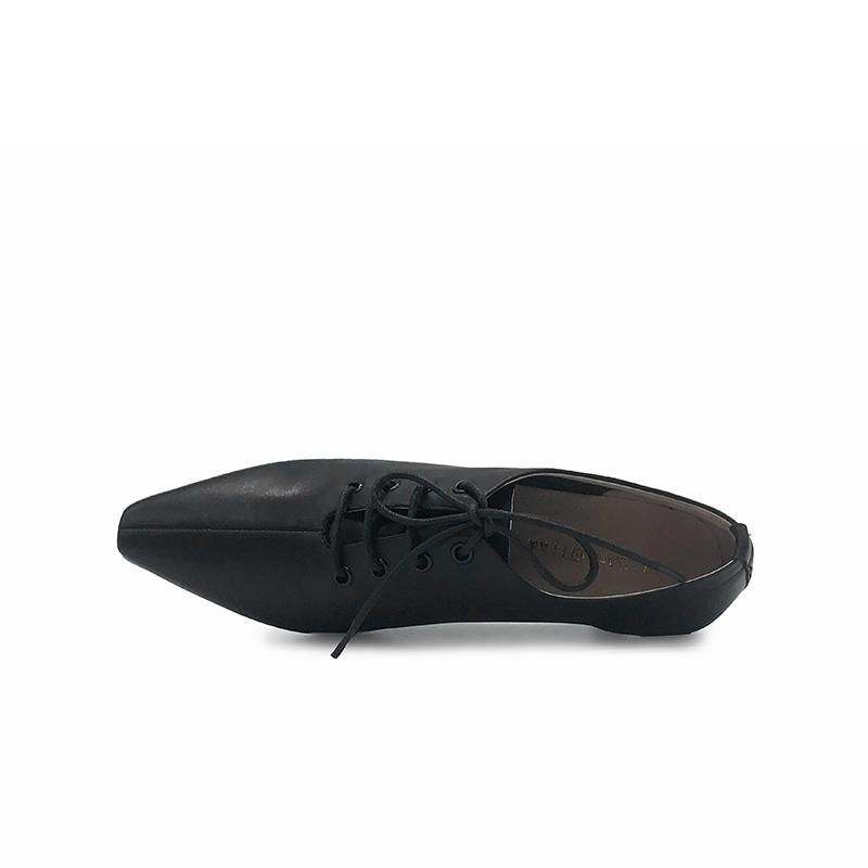 A20106505WX 春季新品深口酒杯跟及踝靴系带女单鞋 2020 千百度女鞋