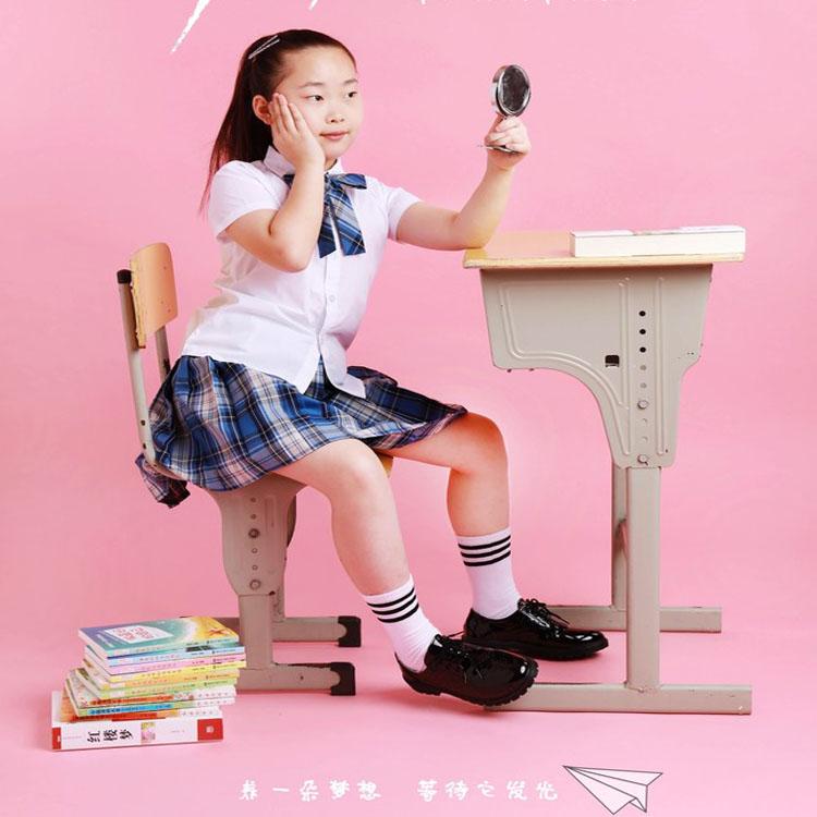 包邮现货少年派短袖裙套装林妙妙邓小琪小学初中高中大学日韩校服