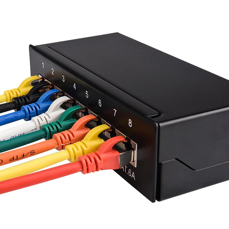 六类网线家用电脑双屏蔽10高速网络线5米20超五类千兆宽带线网线