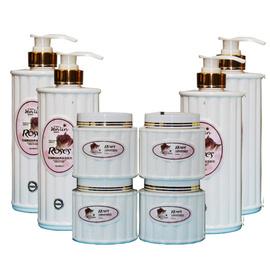 美容院装产品护肤品套装玫瑰洁面乳液按摩膏去角质爽肤水面膜精华