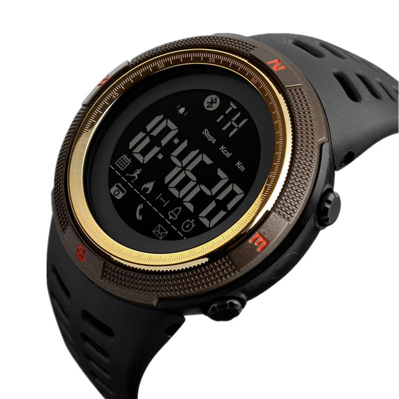 时刻美品牌智能手表男士防水多功能跑步运动蓝牙男表计步计时腕表
