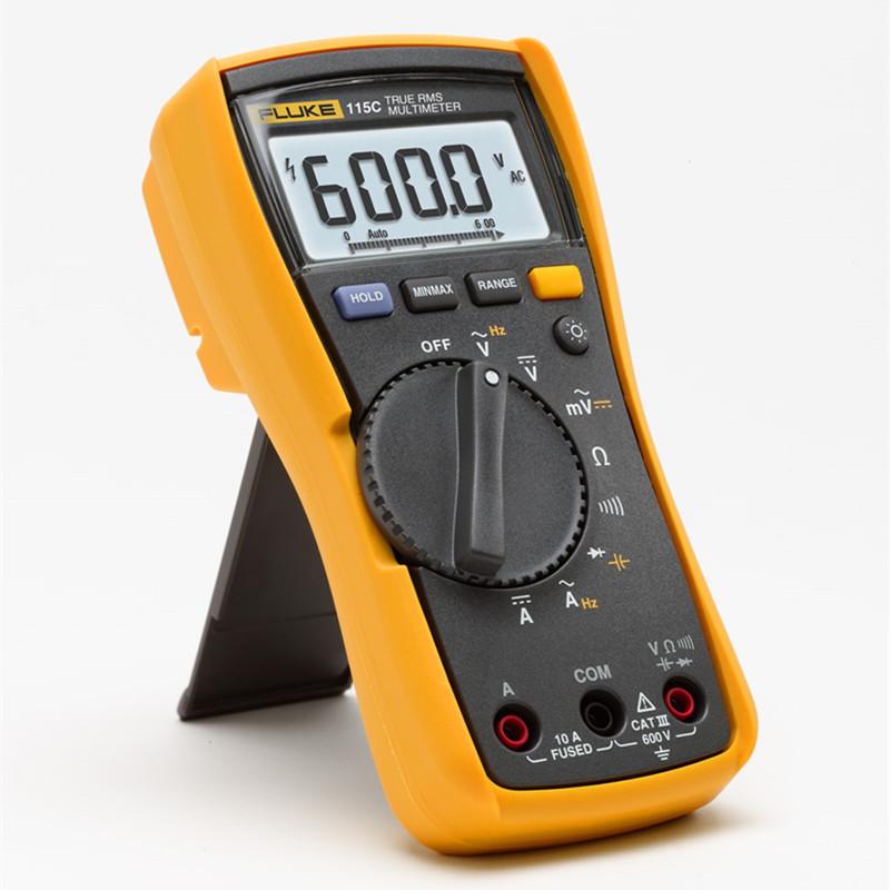 福禄克FLUKE 高精度数字万用表F115C 116C 117C 175C 177C 179C