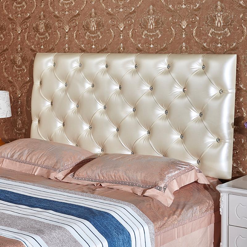 定做榻榻米软包床头床围背景墙儿童防撞墙贴卧室软包靠背可粘贴