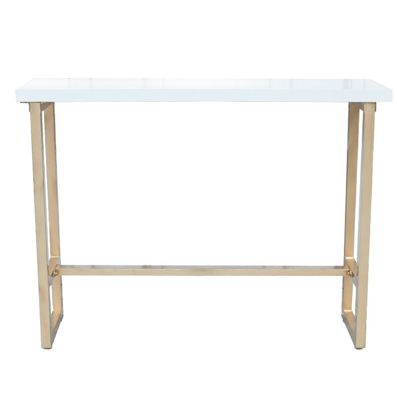 北欧吧台椅高脚桌靠墙吧台实木桌椅咖啡厅甜品店长条桌酒吧桌椅