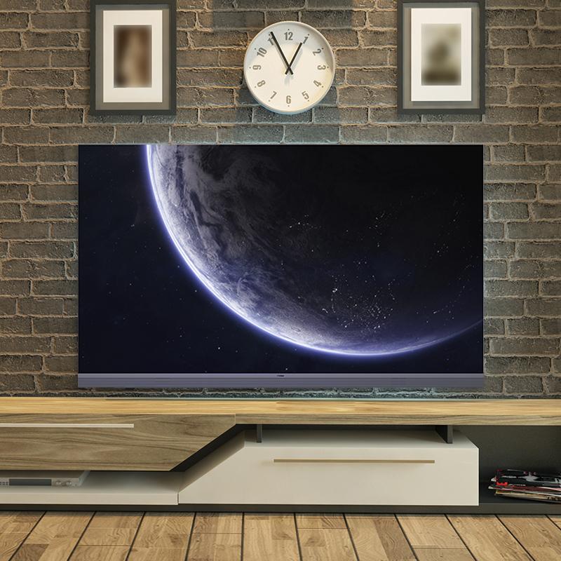 55R5 智能远场语音网络平板全面屏前置音响 4K 英寸 55 海尔液晶电视机