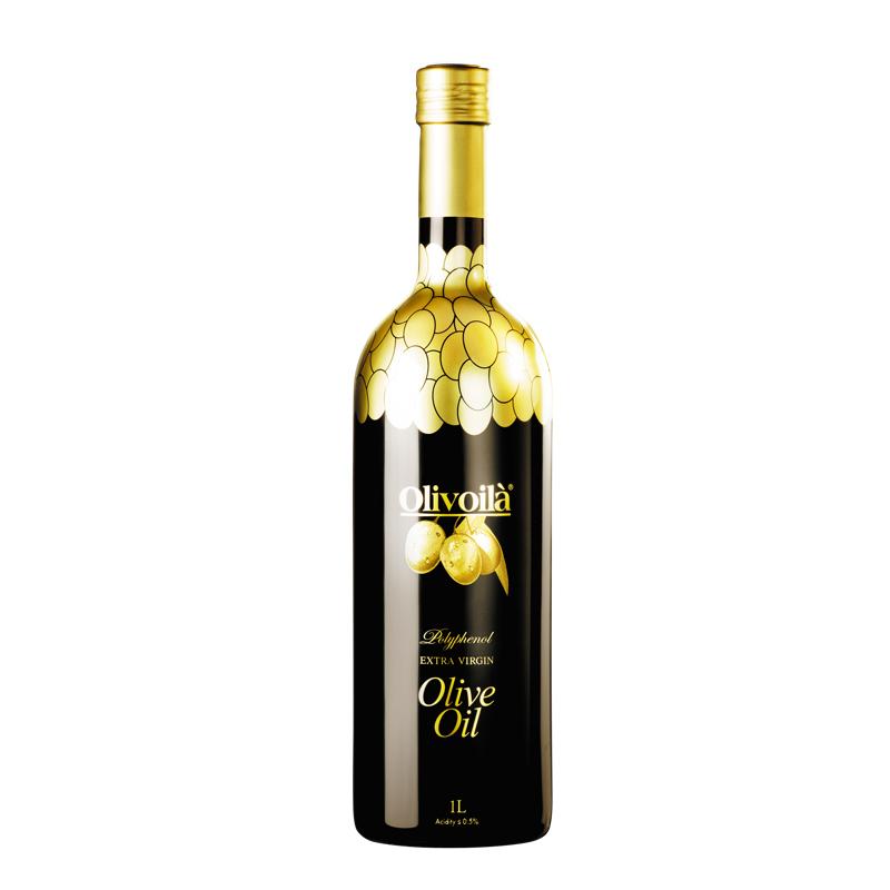 欧丽薇兰高多酚橄榄特级初榨橄榄油1L食用油进口