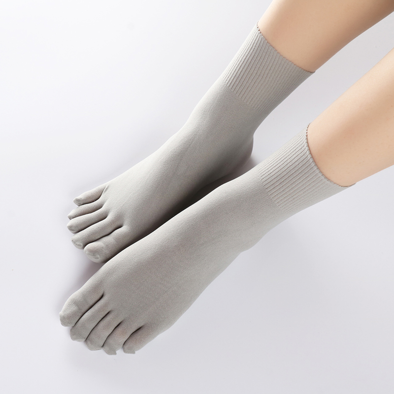 5双五指袜丝袜分趾袜中筒夏季超薄吸汗透气SIS 任意剪男