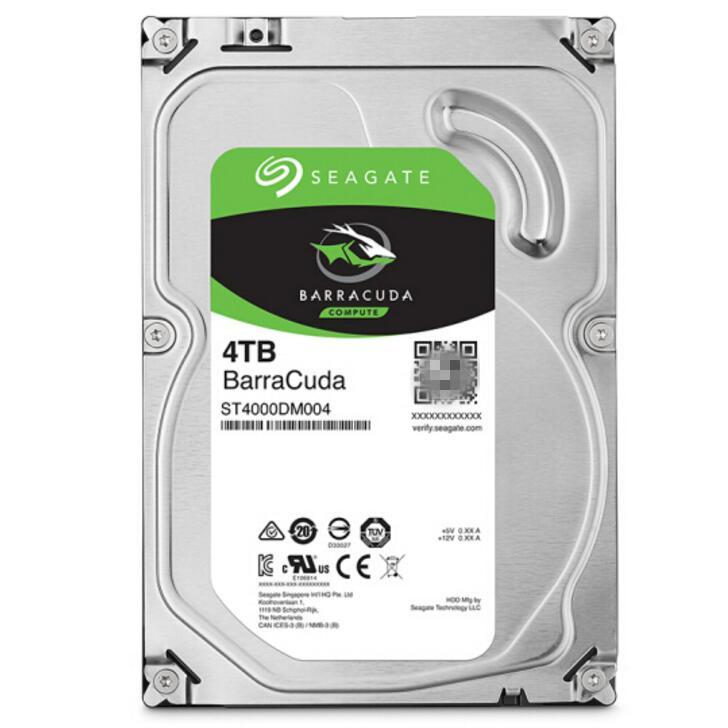 4t 台式机硬盘支持监控 4tb 希捷 ST4000DM004 希捷 Seagate 全新酷鱼