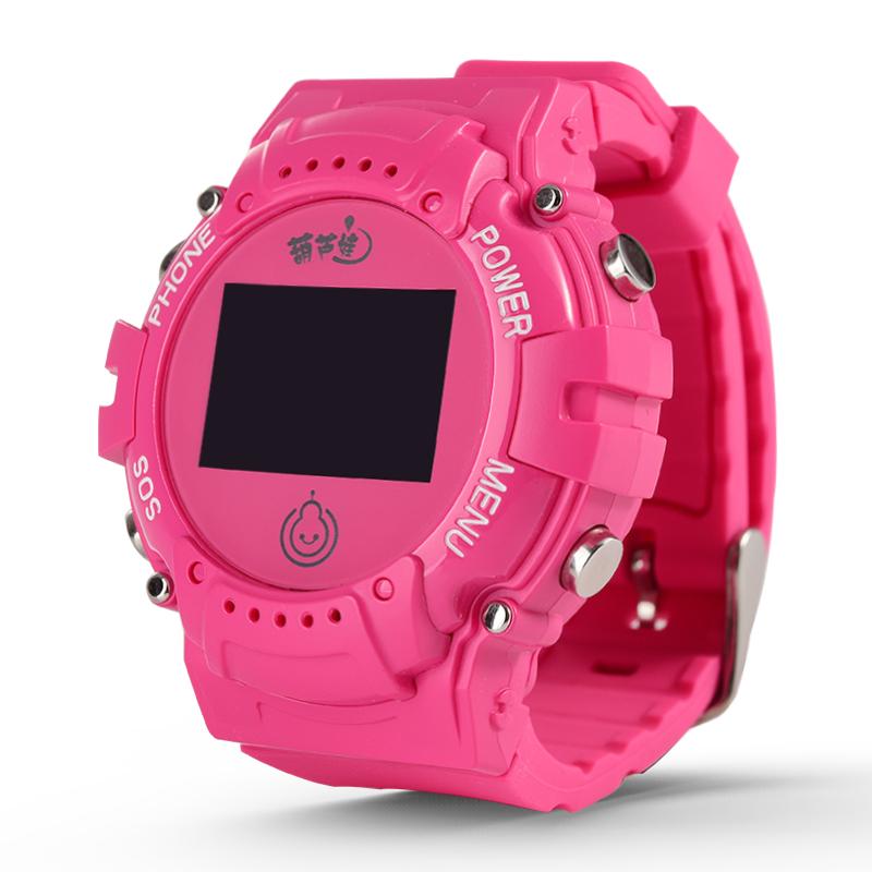 葫蘆娃兒童智慧電話手錶定位防水電信版插卡運動款學生用手機手錶