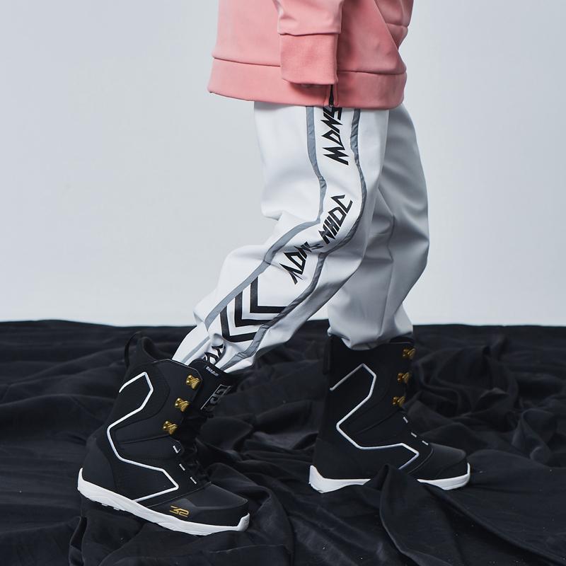 单板滑雪裤女滑雪裤子男滑雪服小众网红潮牌装备雪地裤束腿加厚