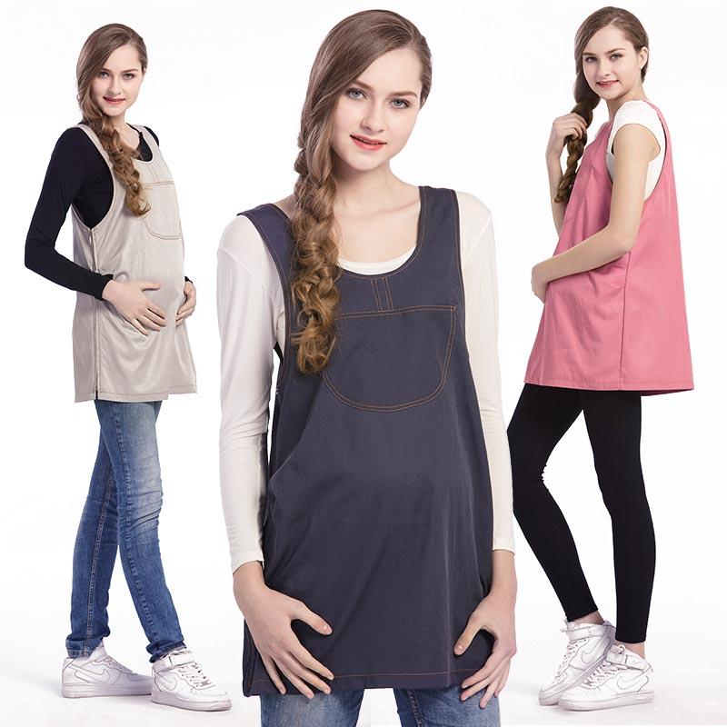 防辐射孕妇装 上班外穿全包裹正品孕妇衣服连衣围裙四季宽松大码