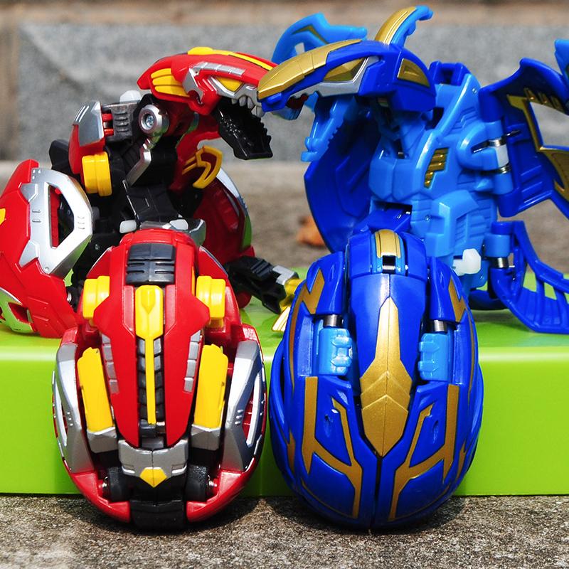 咖宝蛋神玩具变形蛋10款全套爆兽暴兽猎人恐龙蛋机器人机甲大力轰