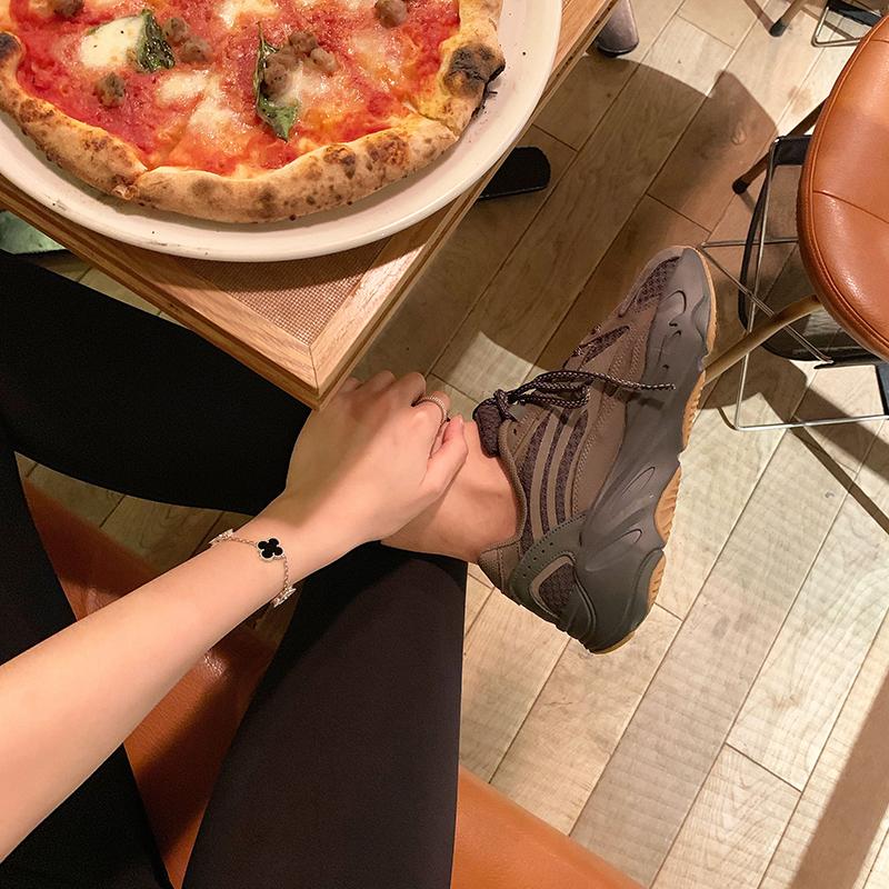 情侣休闲账动鞋女老爹鞋 700v2 可椰子鞋 超级版本 苏茵茵 sheii