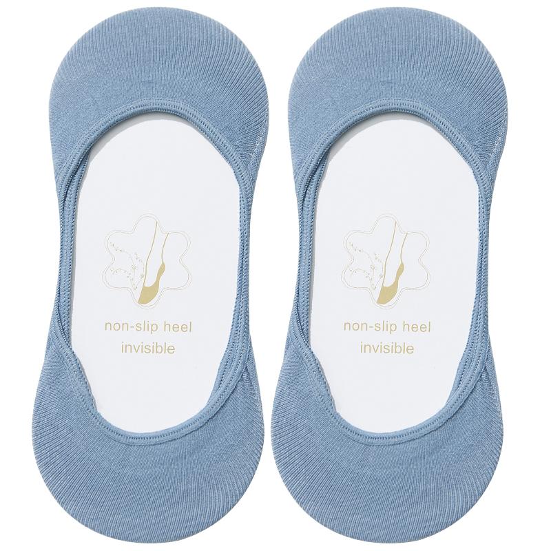 隐形单鞋袜子女短袜浅口不掉薄款夏季袜底船袜女硅胶防滑纯棉无痕