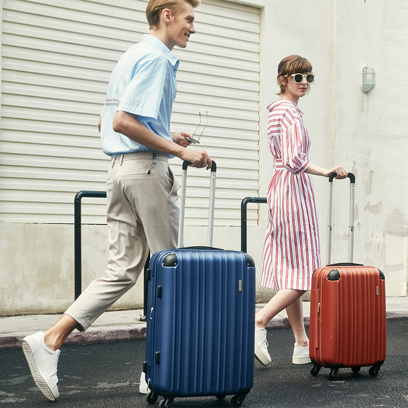 寸密码箱登机箱 20 爱华仕拉杆箱万向轮男网红行李箱女小型