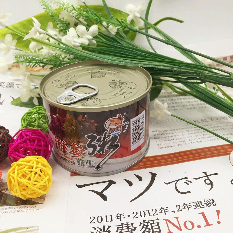 营养速食早餐方便食品五谷杂粮送礼品 罐 6 260g 渔之郎海参粥礼盒