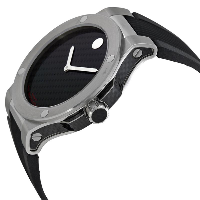 摩凡陀SE Extreme运动终极版系列橡胶带碳纤维机械男表0606390