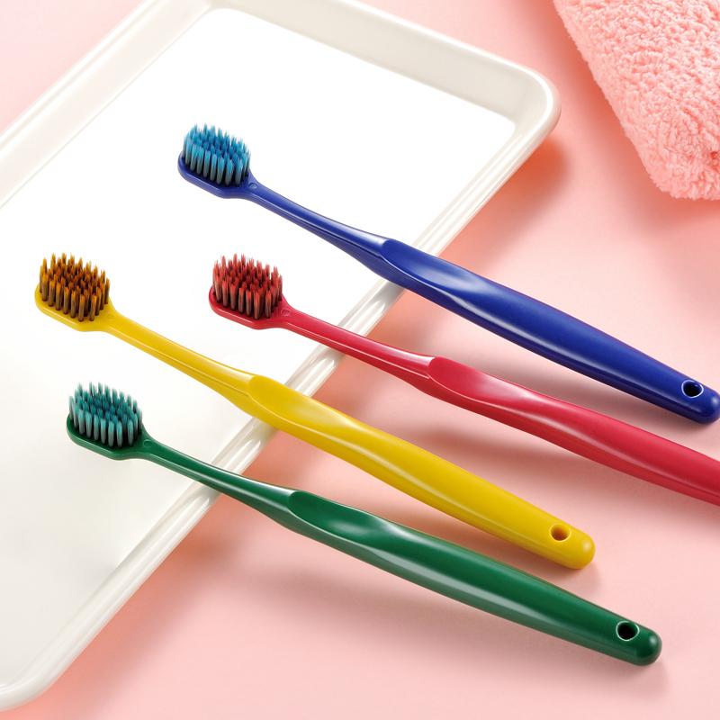 牙刷软毛超细超软情侣孕妇月子家用纳米成人男士专用家庭装组合装