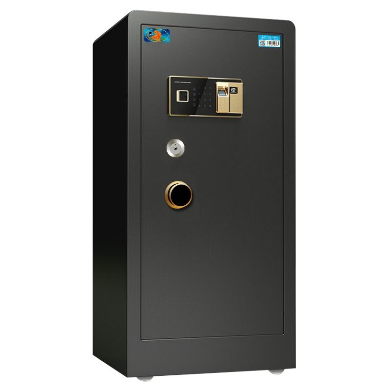 虎牌大型保险柜全钢双门1m 1.2m 1.5米指纹密码办公家用保险箱80