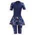 Swimsuit conservative swimsuit female one-piece dress style was thin and fat 180 kg plus size fat MM sports hot spring swimming suit