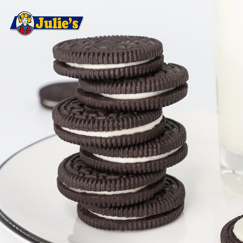马来西亚进口茱蒂丝巧克力芝士夹心饼干晚上解饿零食散装多口味 - 图2