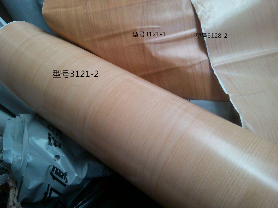特厚深黄榉木木纹衣柜翻新贴自粘贴纸墙纸波音软片家具翻新贴纸