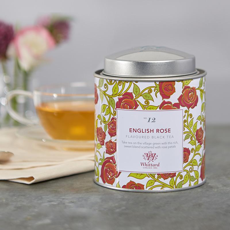 英式进口红茶花茶茶叶 袋茶包 25 罐装赠 100g 英国玫瑰红茶 Whittard