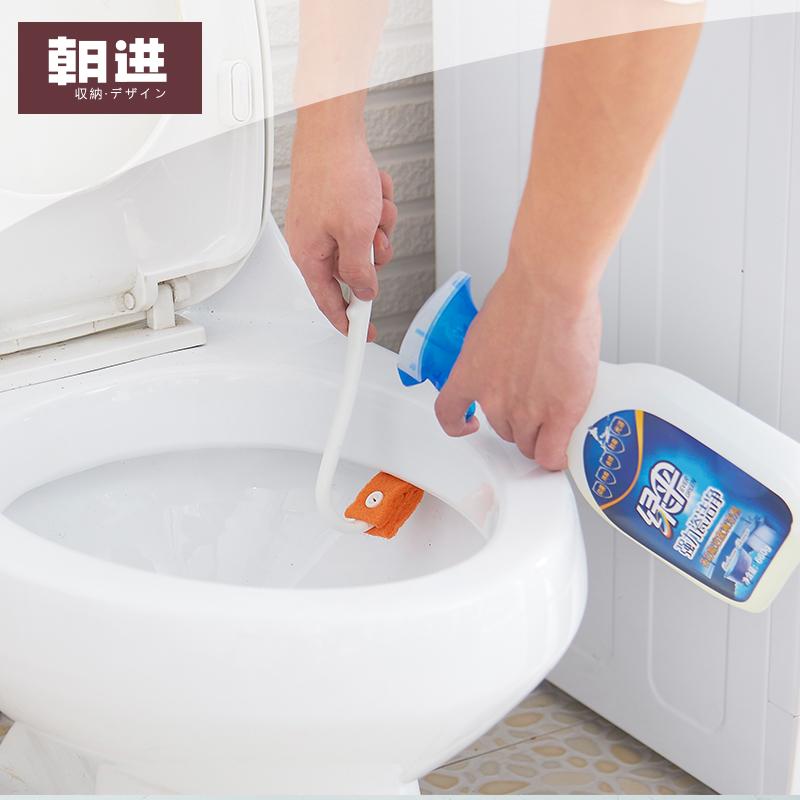 朝进卫生间马桶刷长柄创意厕所刷塑料清洁刷缝隙刷洁厕小刷子