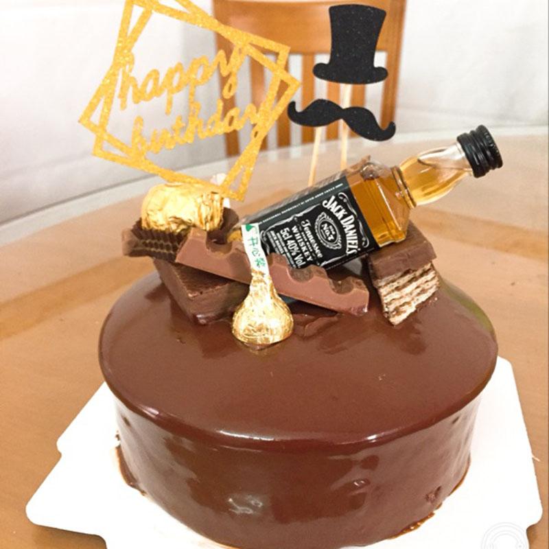 Astounding Party Birthday Cake Decoration Accessories Jack Danny Canada Club Birthday Cards Printable Giouspongecafe Filternl