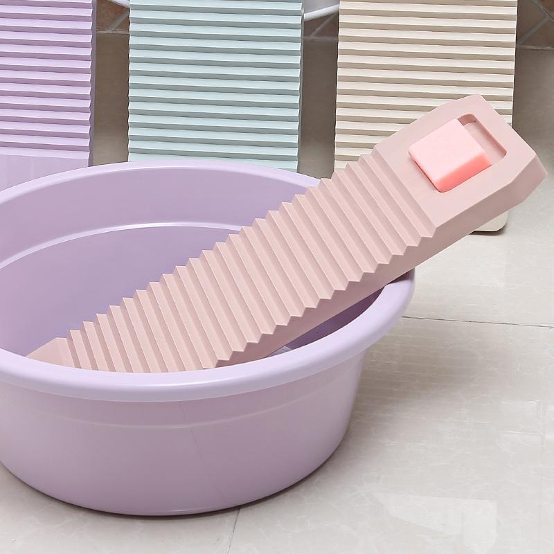 时尚方形加厚搓衣板迷你塑料防滑洗衣板大号小号洗衣服搓板洗刷板