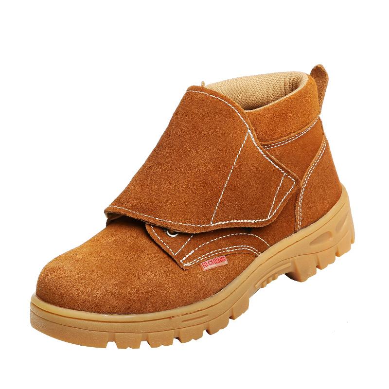 劳保鞋男士电焊工专用防烫高帮防砸防刺穿冬季轻便工地防臭工作鞋