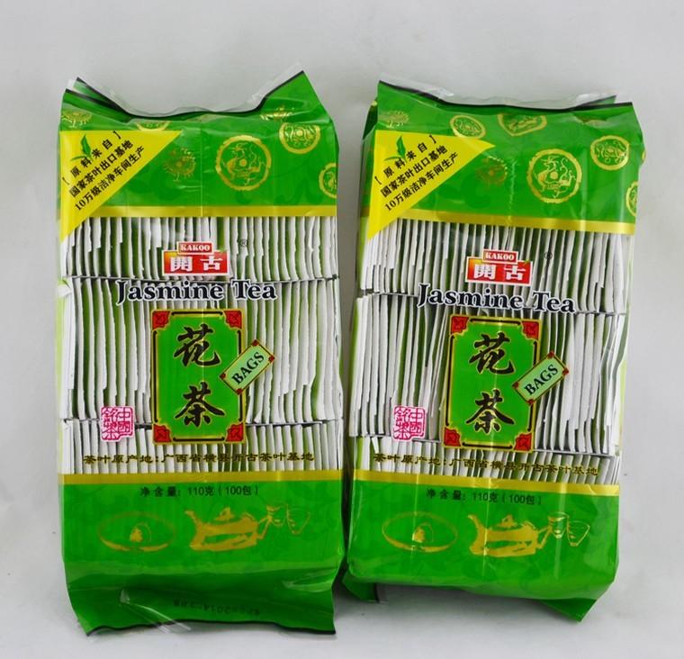 花草茶特级 包茶包新茶袋装绿茶代用茶 100 袋泡茶茉莉花茶叶