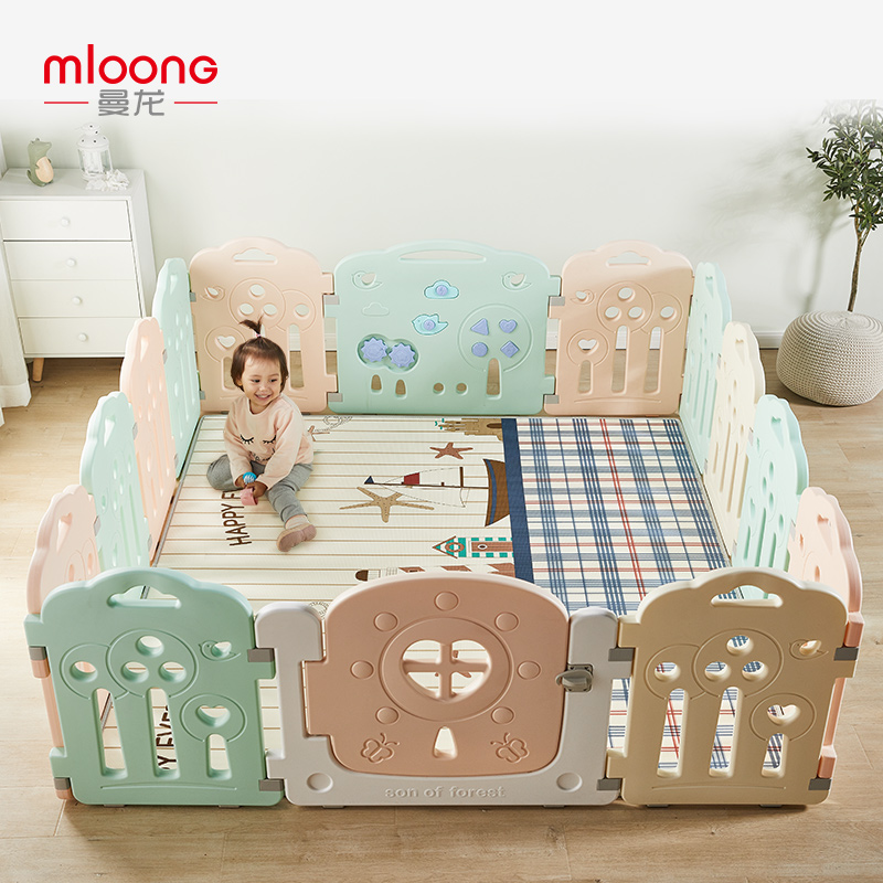 曼龙宝宝爬行垫加厚无味xpe婴儿客厅游戏小孩地垫家用儿童爬爬垫