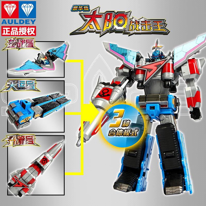 巨神战击队玩具3爆裂战机王机器人超救分队冲锋战机王武器变身器