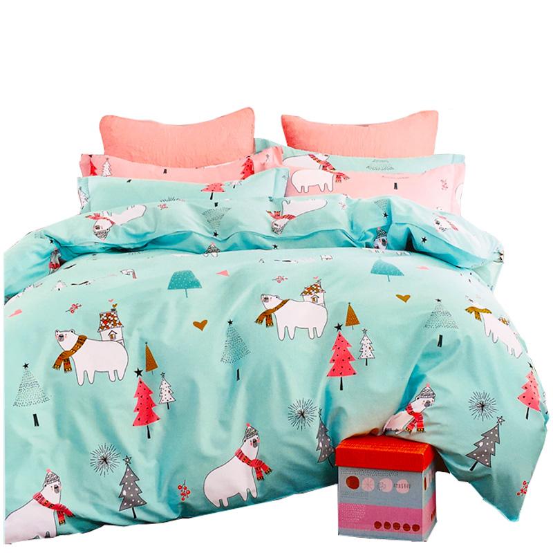 纯棉单件单人被套婴儿童幼儿园被套宝宝被罩全棉床垫被套褥套包邮